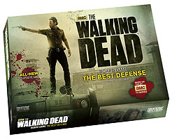 The Walking Dead Board Game: The Best Defense (tv) Box Front