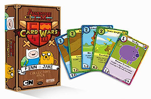 Adventure Time Card Wars: Finn Vs Jake Collector`s Pack #1 Box Front