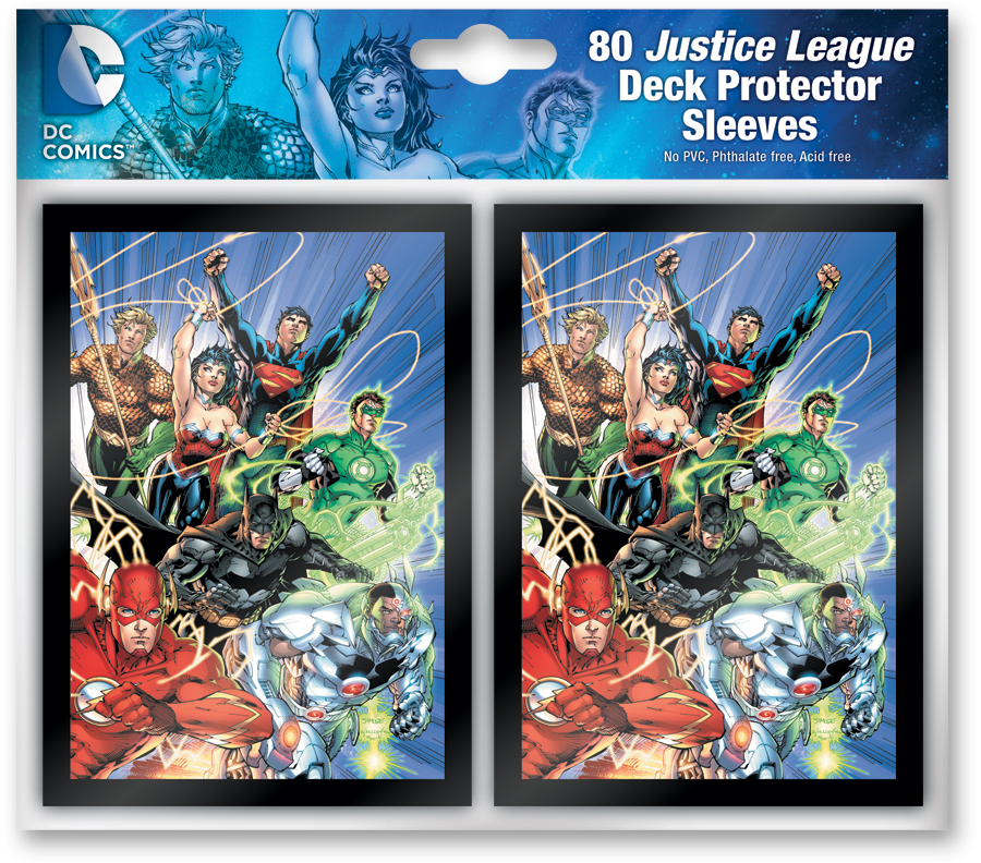 Dc Comics Dbg: Sleeve Pack (80) Justice League Box Front