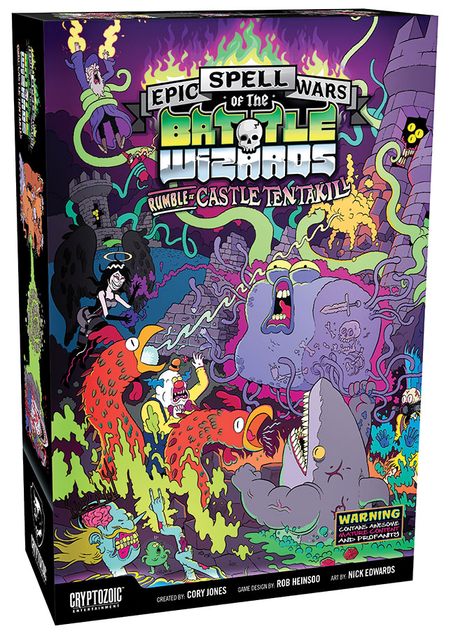Epic Spell Wars Of The Battle Wizards 2: Rumble At Castle Tentakill Box Front