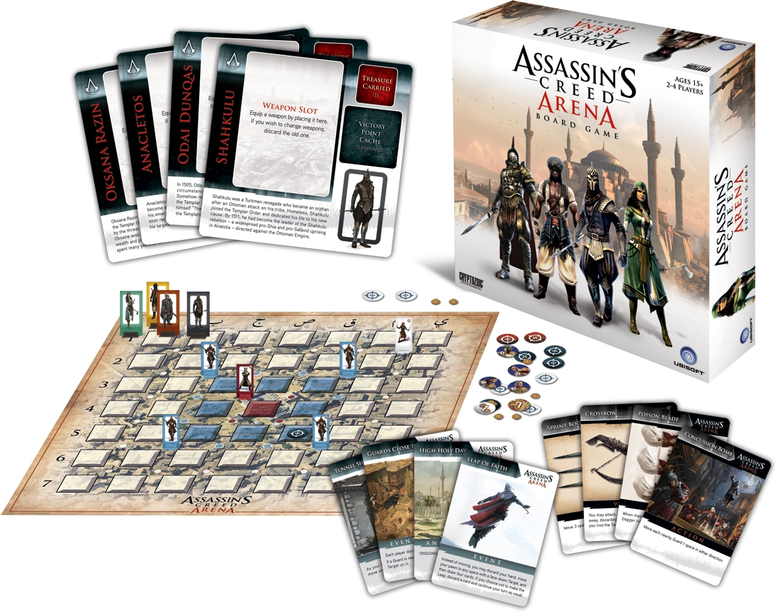 Assassin`s Creed: Arena Box Front