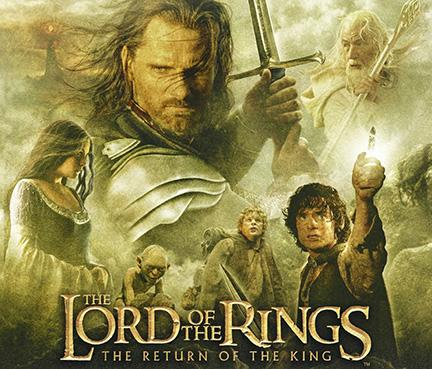 The Lord Of The Rings: Return Of The King Deck-building Game Demo Pr1 Box Front