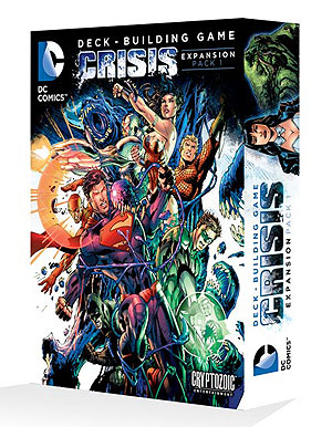 Dc Comics Dbg: Crisis Expansion Pack 1 Box Front