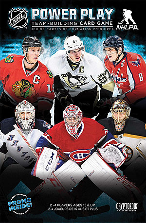 Nhl Power Play Team-building Card Game Box Front