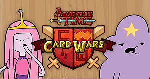 Adventure Time Card Wars: Princess Bubblegum Vs Lumpy Space Princess Collector`s Pack #3 Box Front