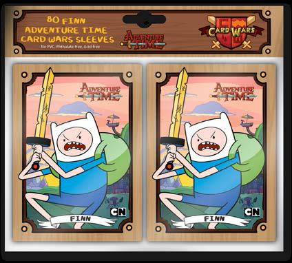 Adventure Time Card Wars: Sleeve Pack (80) Finn Box Front