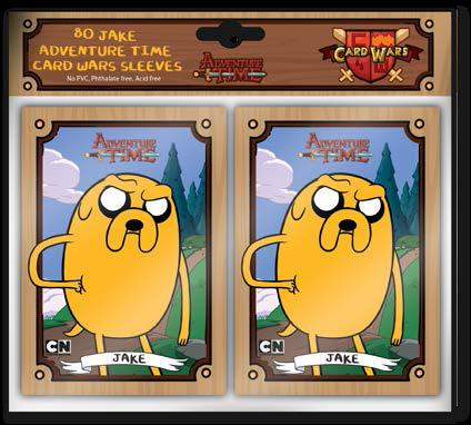 Adventure Time Card Wars: Sleeve Pack (80) Jake Box Front