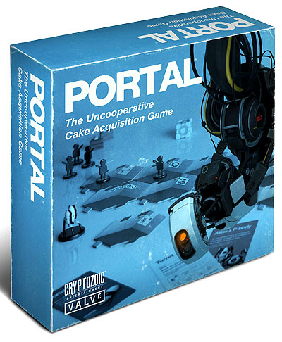 Portal: The Uncooperative Cake Acquisition Game Box Front