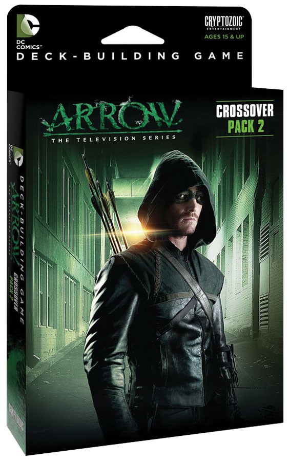 Dc Comics Dbg: Crossover Pack 2 - Arrow The Television Series Expansion Box Front
