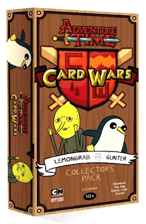 Adventure Time Card Wars: Lemongrab Vs Gunter Collector`s Pack #5 Box Front