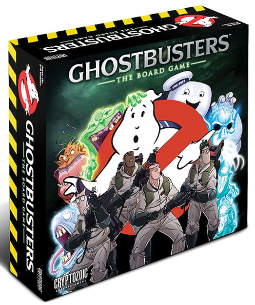 Ghostbusters: The Board Game Box Front