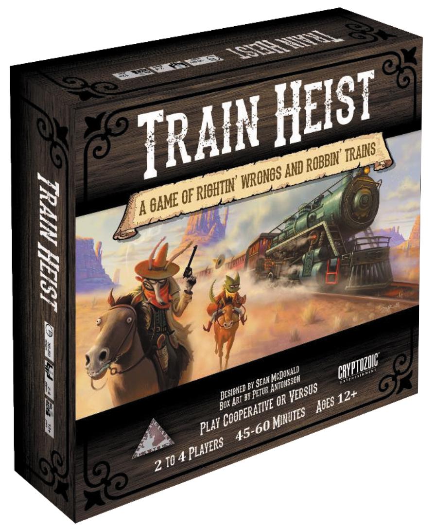 Train Heist Box Front