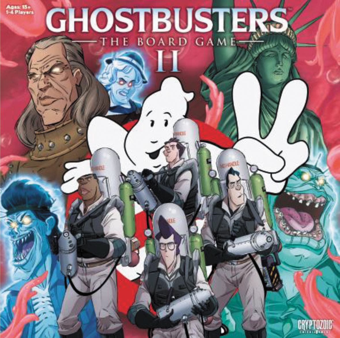 Ghostbusters: The Board Game Ii Box Front