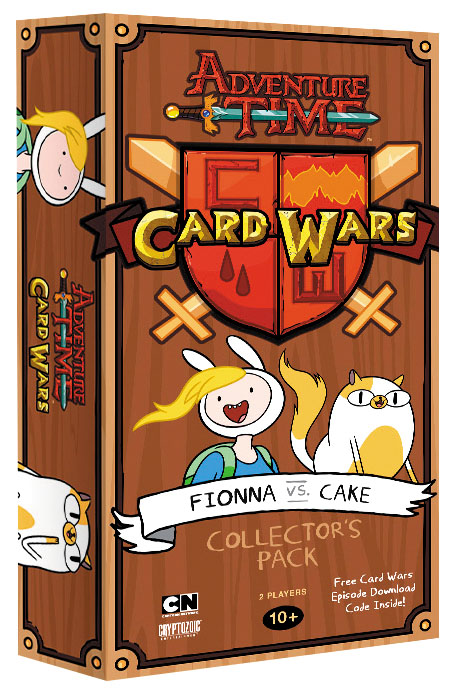 Adventure Time Card Wars: Fionna Vs Cake Collector`s Pack #6 Box Front