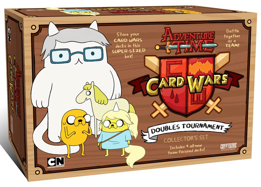 Adventure Time Card Wars: Doubles Tournament Game Box Front