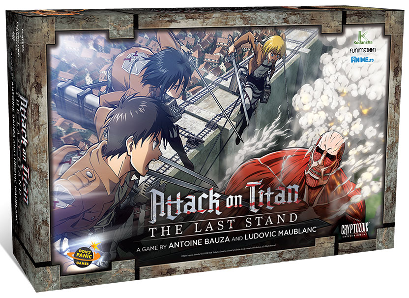 Attack On Titan: The Last Stand Box Front