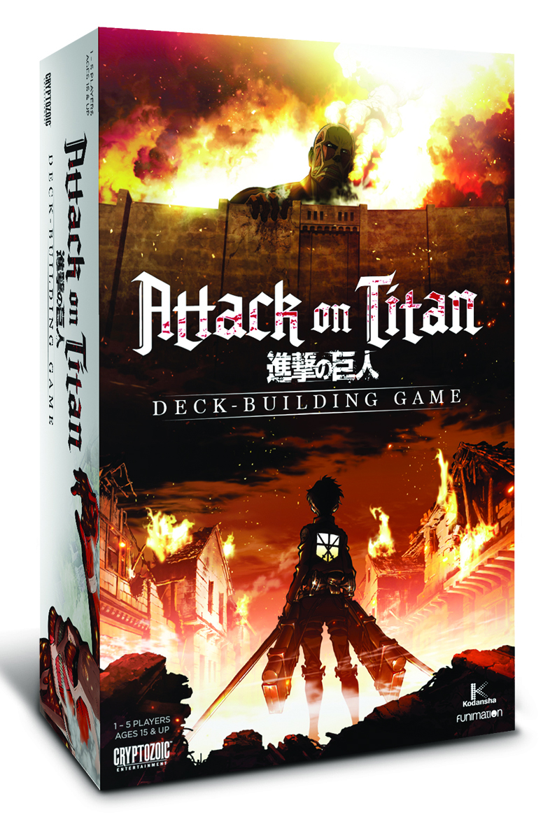 Attack On Titan Dbg: Core Set Box Front