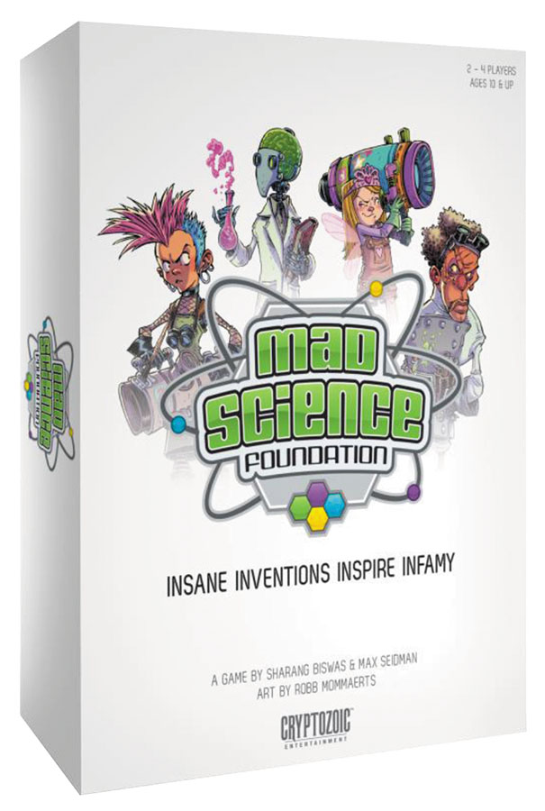 Mad Science Foundation Box Front