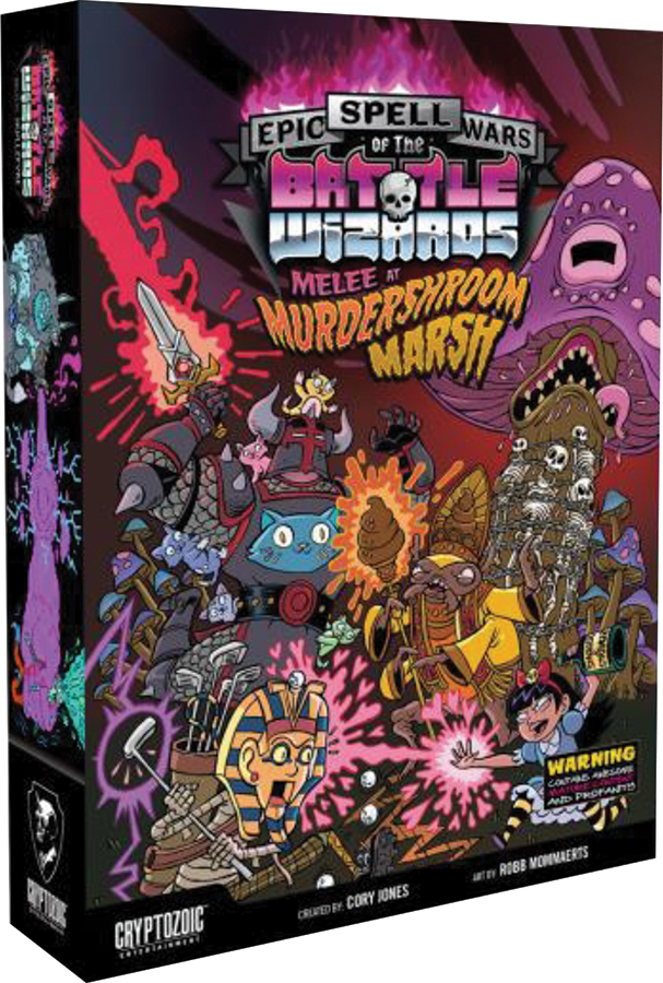 Epic Spell Wars Of The Battle Wizards 3: Melee At Murdershroom Marsh Box Front
