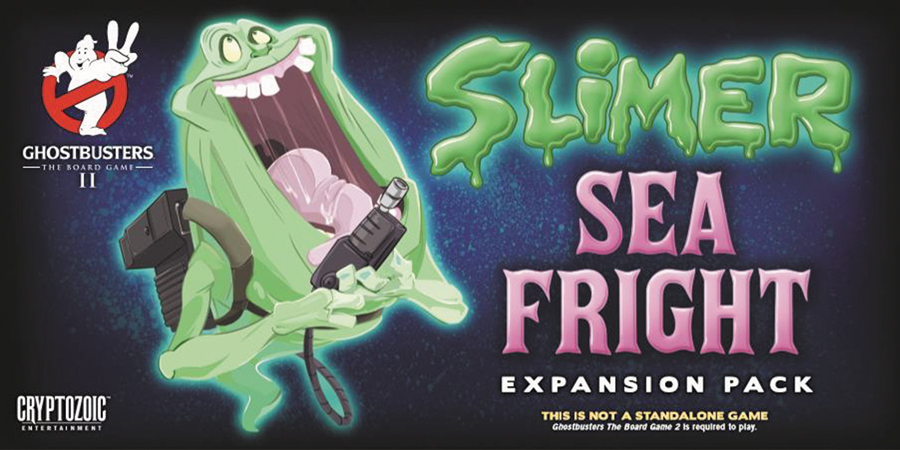 Ghostbusters: The Board Game Ii - Slimer Sea Fright Expansion Pack Box Front
