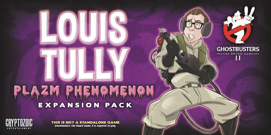 Ghostbusters: The Board Game Ii - Louis Tully Plazm Phenomenon Expansion Pack Box Front