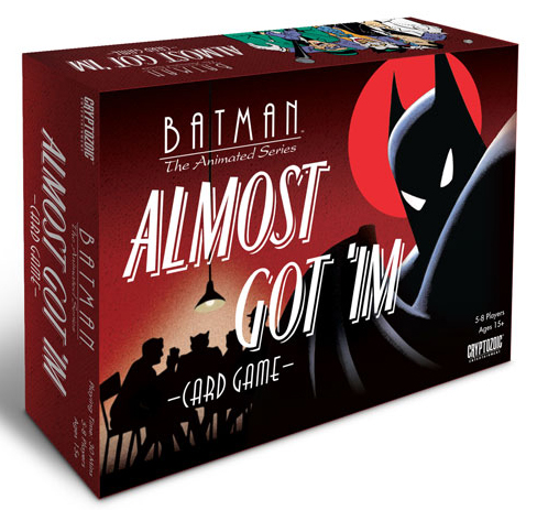 Batman The Animated Series: Almost Got `im Card Game Box Front