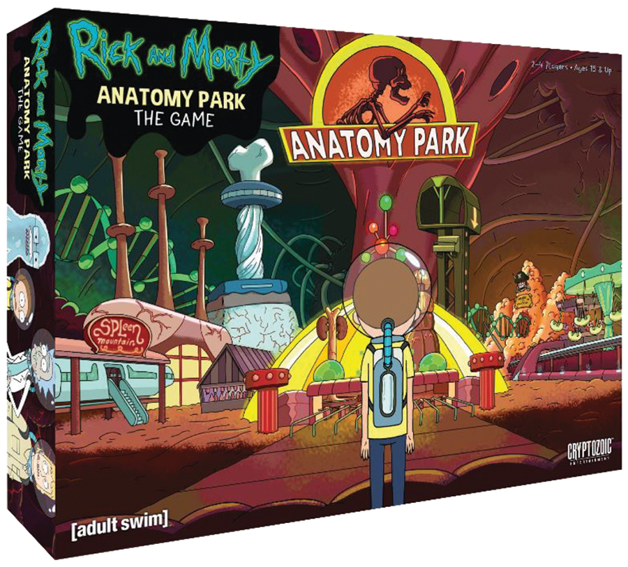 Rick And Morty: Anatomy Park - The Game Box Front