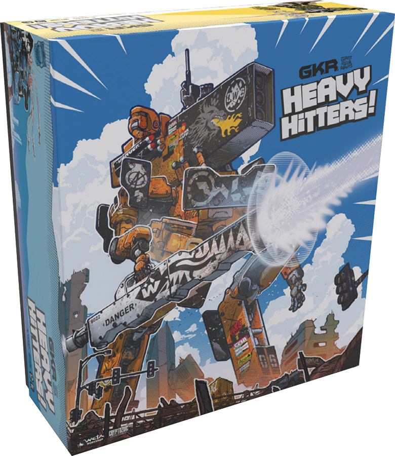 Gkr: Heavy Hitters Board Game Box Front