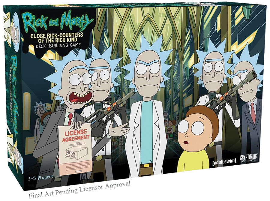 Rick And Morty Dbg: Close Rick-counters Of The Rick Kind - Core Set Box Front