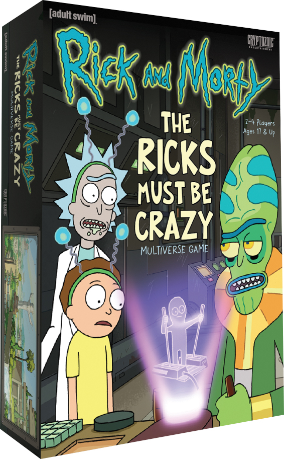 Rick And Morty: The Ricks Must Be Crazy Multiverse Game Box Front