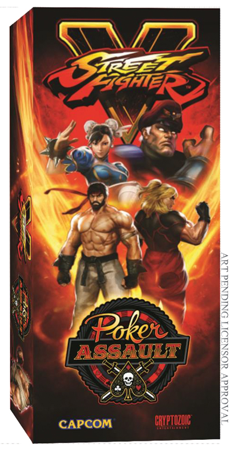 Street Fighter V: Poker Assault Box Front