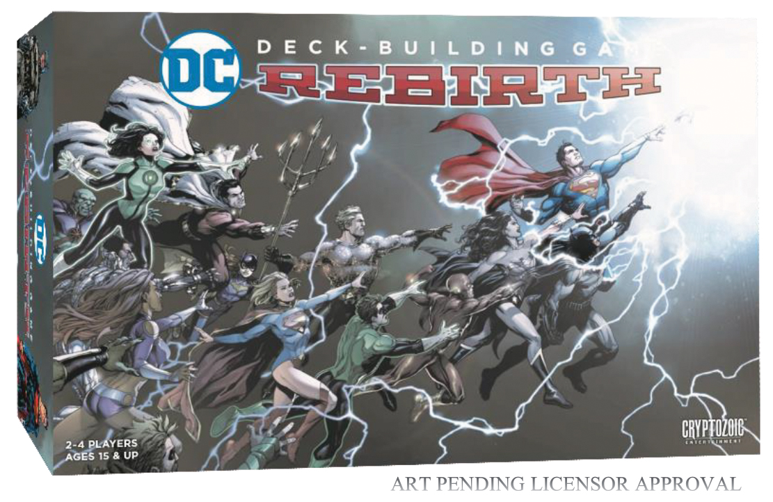 Dc Comics Dbg: Rebirth Box Front