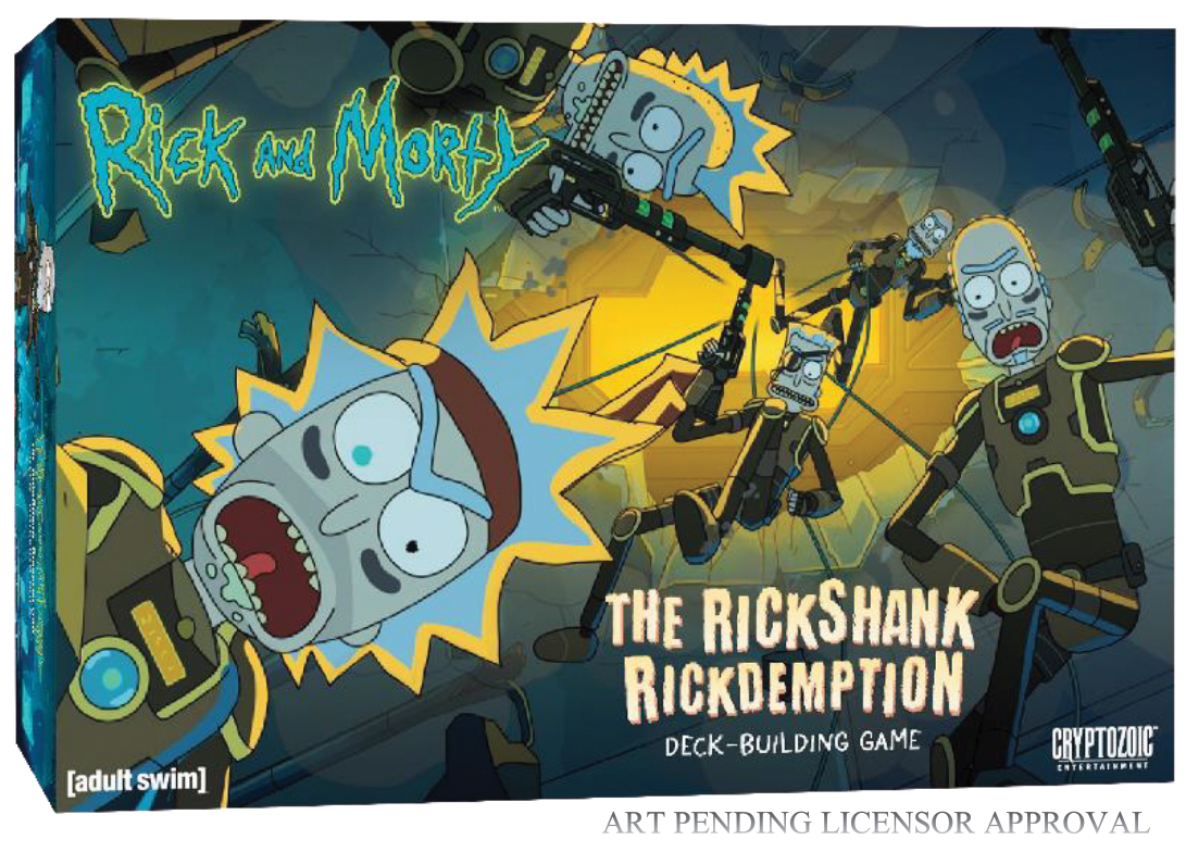 Rick And Morty Dbg: The Rickshank Rickdemption Box Front