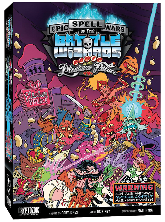 Epic Spell Wars Of The Battle Wizards 4: Panic At The Pleasure Palace Box Front