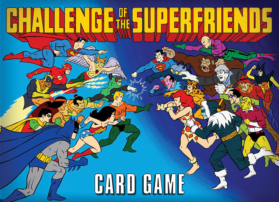 Challenge Of The Superfriends Card Game Game Box