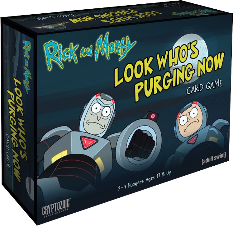 Rick And Morty: Look Who`s Purging Now Card Game Game Box