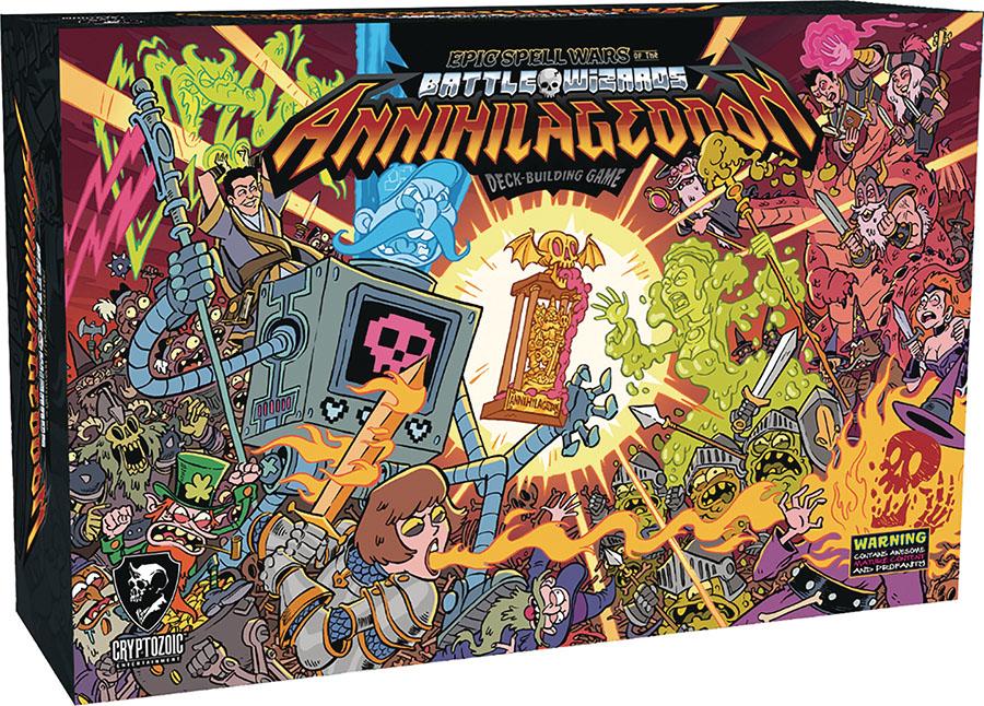 Epic Spell Wars Of The Battle Wizards: Annihilageddon Deck Building Game Game Box
