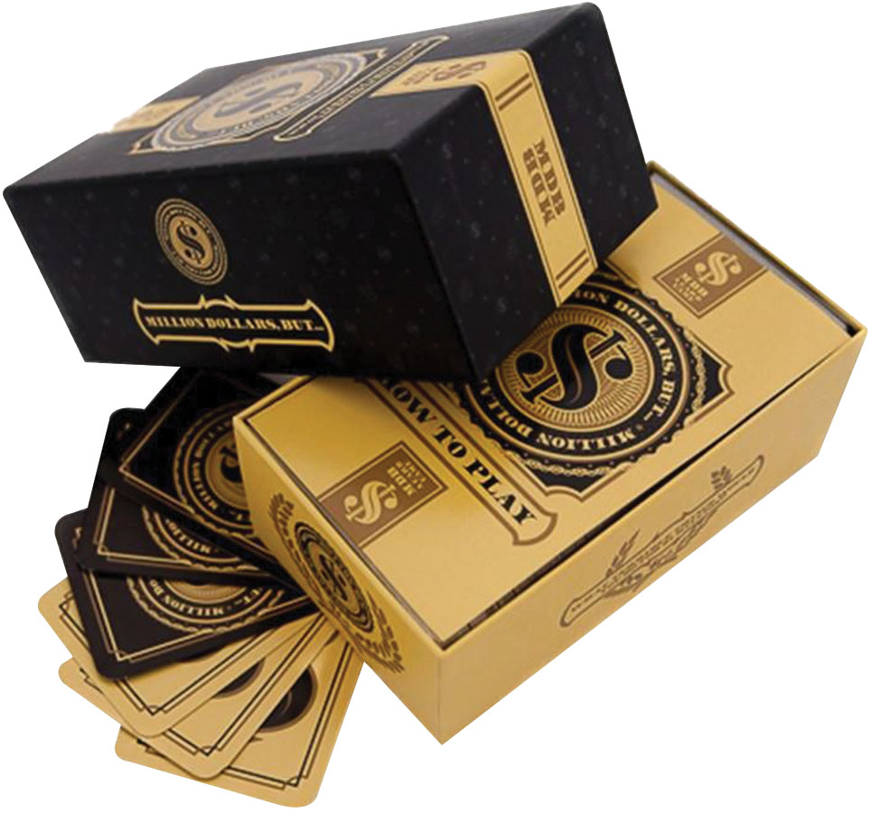 Million Dollars, But The Game Box Front