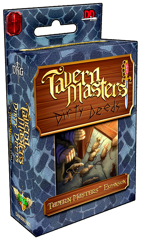 Tavern Masters: Dirty Deeds Expansion Box Front