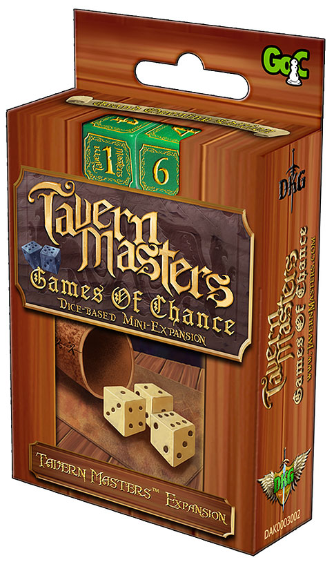 Tavern Masters: Games Of Chance Expansion Box Front