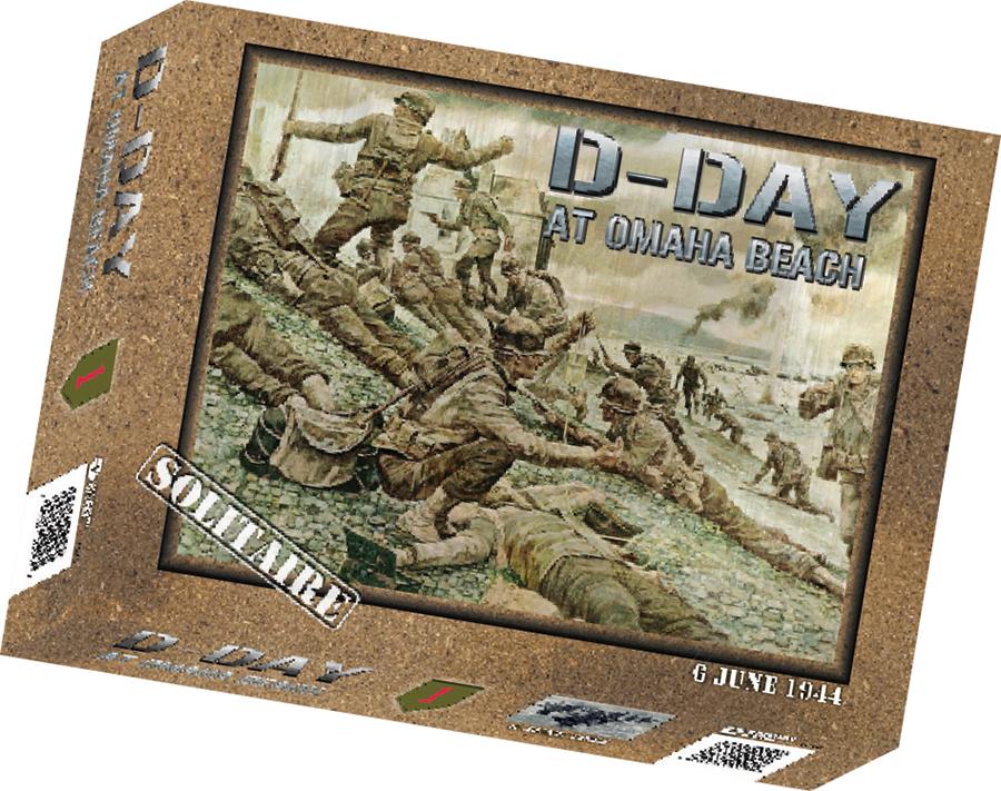 D-day At Omaha Beach Box Front