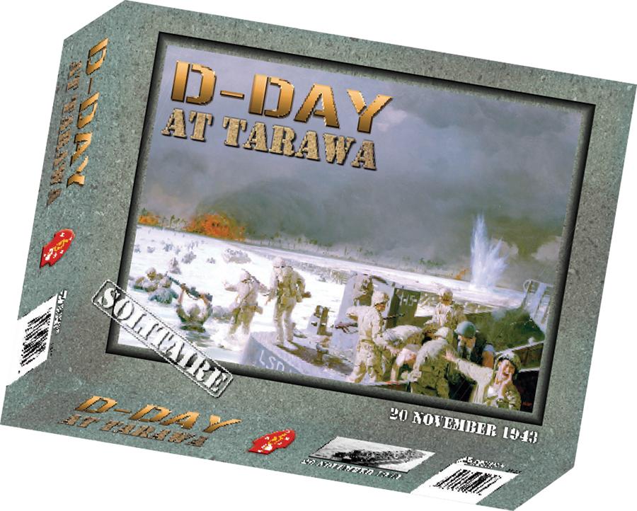 D-day At Tarawa Box Front