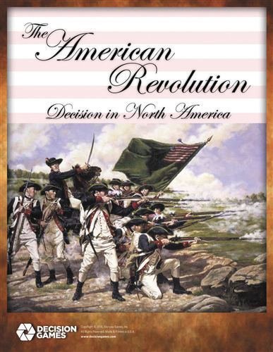 The American Revolution: Decision In North America Box Front