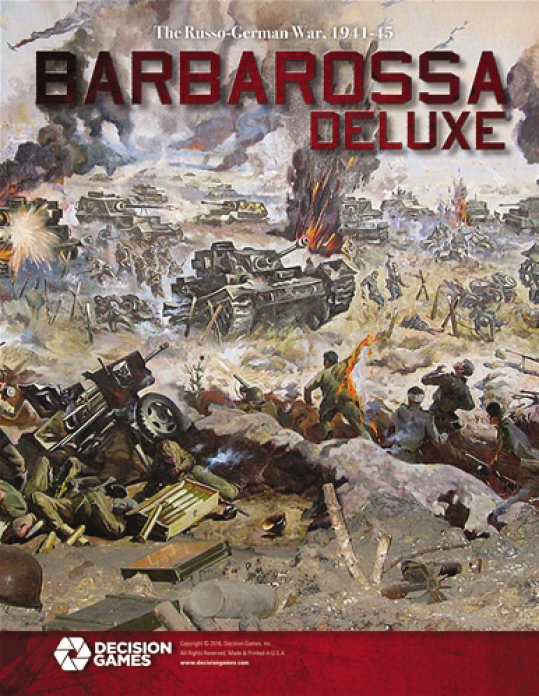 Barbarossa Deluxe Exclusive Edition Box Front