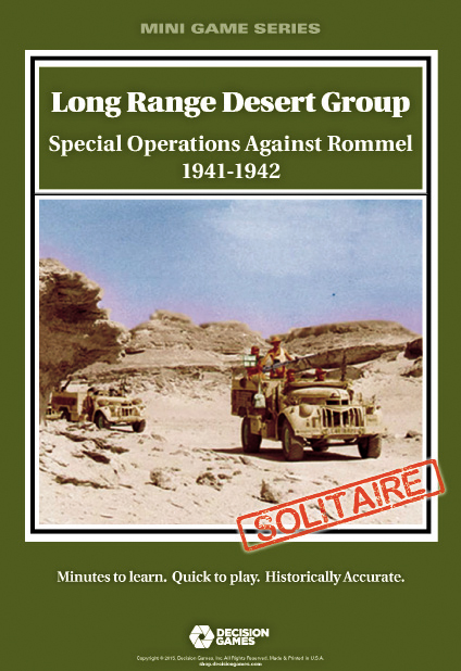 Mini Folio Series: Long Range Desert Group Box Front