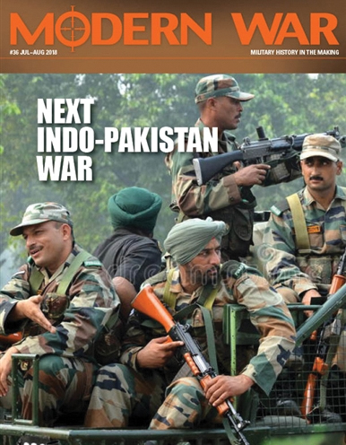 Modern War #36: Cold Start - The Next India-pakistan War Box Front