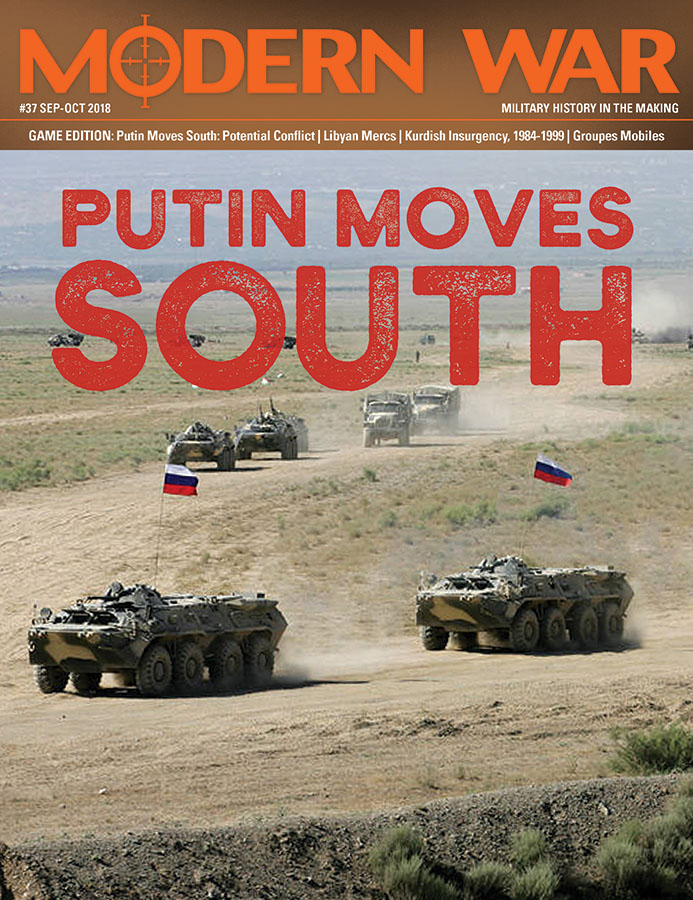 Modern War #37: Putin Moves South Game Box