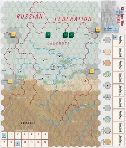 Modern War #40: Chechen War Game Box