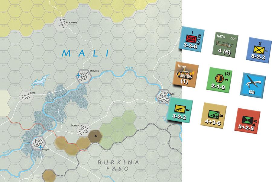 Modern War #43: Operation Serval Game Box
