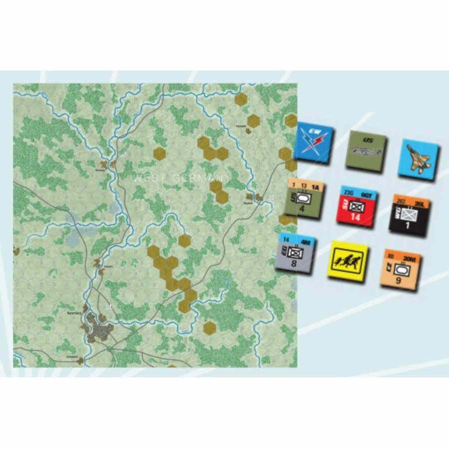 Modern War #47: Objective Nuremberg Game Box